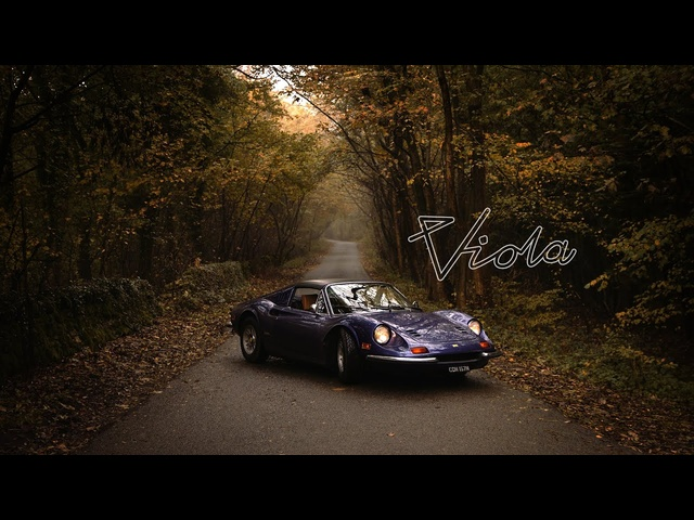 1964 Ferrari Dino 246 GTS: Viola