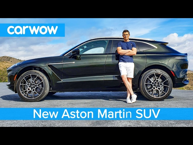 New Aston Martin DBX SUV 2020 - full exterior and interior review...and DOG TEST!