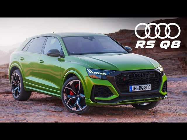 NEW <em>Audi</em> RS Q8: This Or A Lamborghini Urus? - First Look And AMAZING SOUND! | Carfection