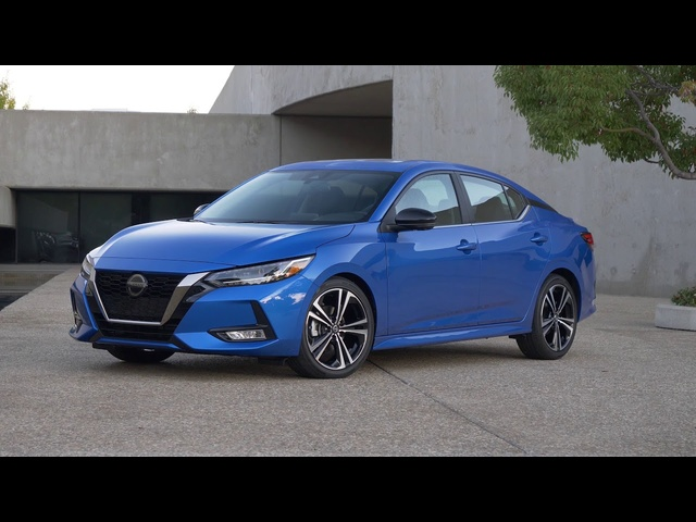 2020 Nissan Sentra | LA Auto Show Introduction | Steve Hammes