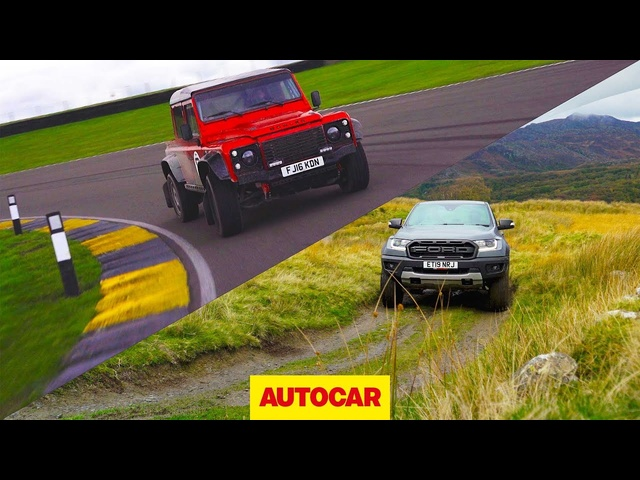 Ford Ranger Raptor v Bowler Bulldog | 4x4s tested off-road and on track | Autocar