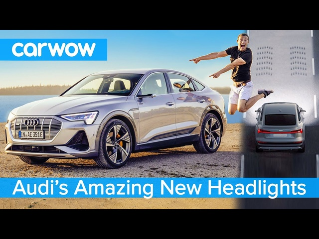 This new <em>Audi</em> has the most hi-tech headlights of any road car - they could even project movies!