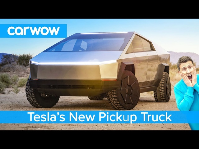 All-new <em>Tesla</em> Pickup Truck 2021 - see why the Cybertruck EV is an F150 Raptor slayer!