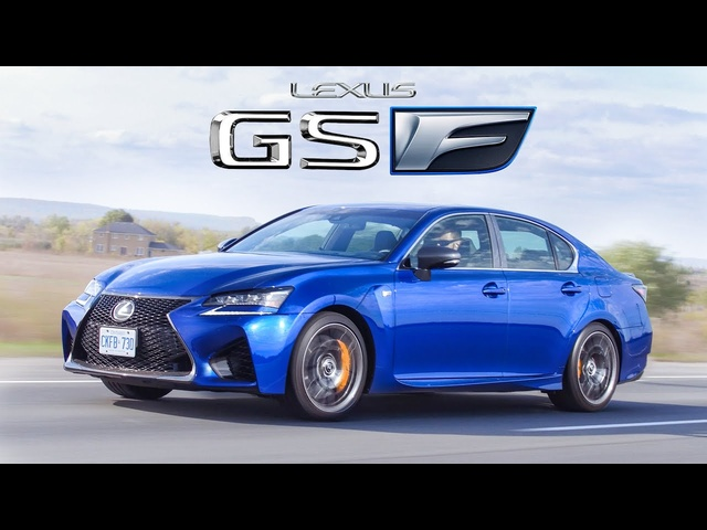The Lexus GS F is a Reliable V8 Burnout Machine