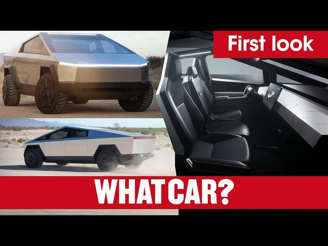 Tesla Cybertruck electric pick-up unveiled – everything you need to know! | What Car?