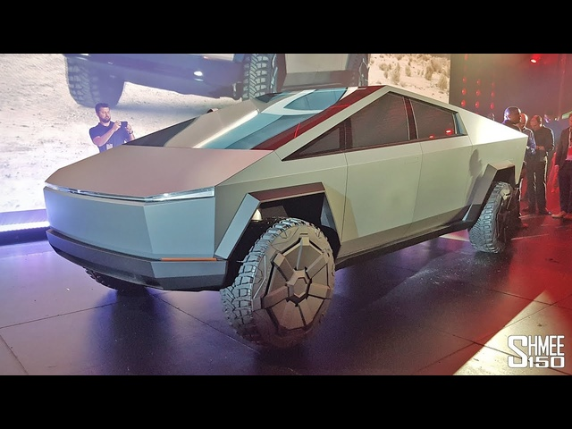 Check Out the <em>TESLA</em> CYBERTRUCK! | FIRST LOOK & RIDE