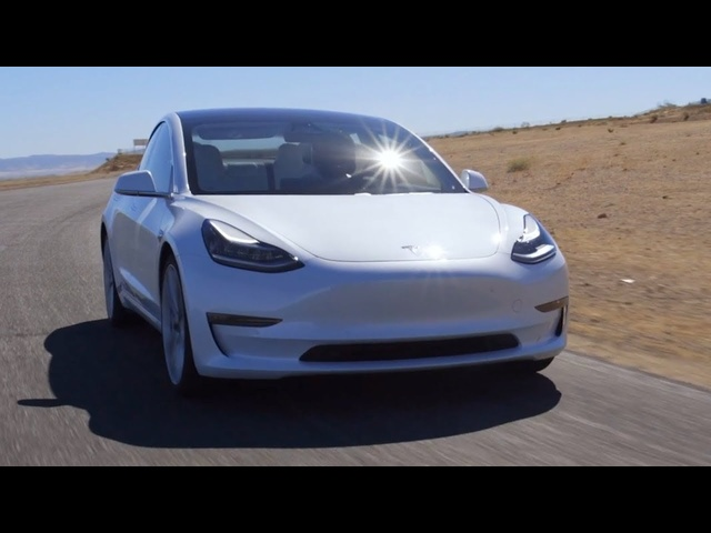 Tire Rack Hot Lap: Tesla Model 3 Performance