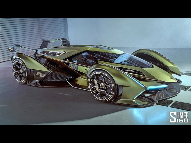 My Reaction to the New Lamborghini V12 Vision GT! | FIRST LOOK