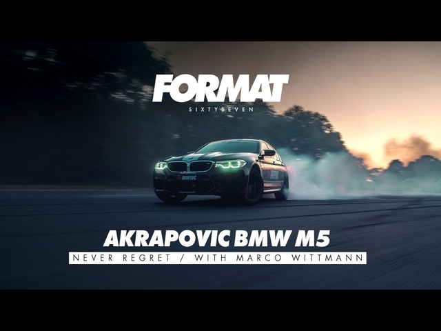 AKRAPOVIC BMW M5 by FORMAT67.NET