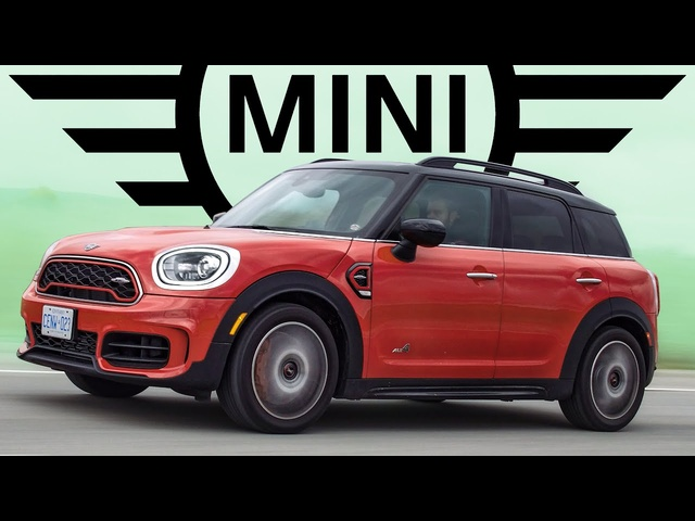 2020 Mini Cooper Countryman JCW SUV Review