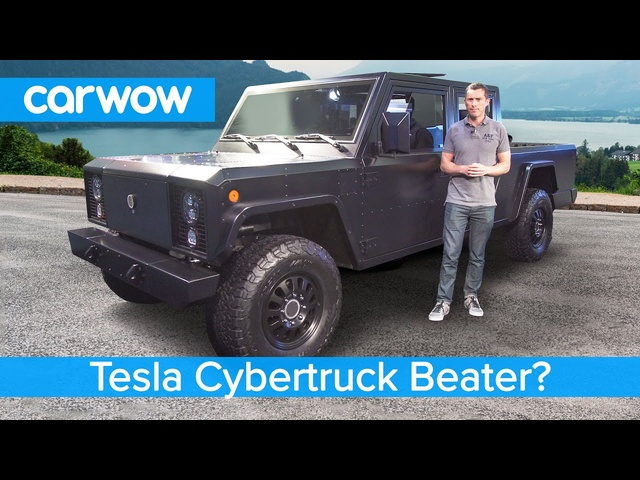Is this a <em>Tesla</em> Cybertruck killer? The crazy new £100K Bollinger EV Pickup.