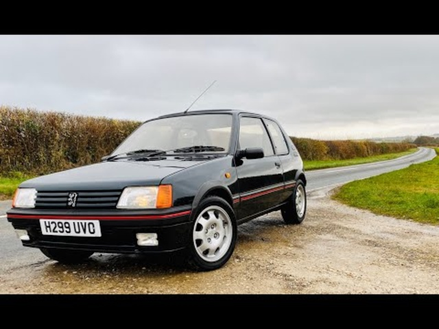 Peugeot 205 GTi 1.9. Is this the best hot-hatch ever?
