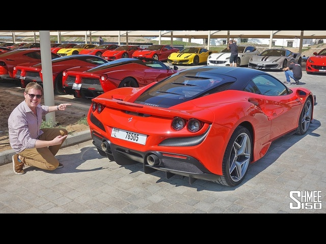 NEW Ferrari F8 Tributo Chasing TWO LaFerraris! My First Drive