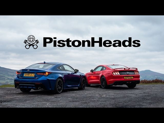 Lexus RC F Track Pack vs Ford Mustang GT | PistonHeads