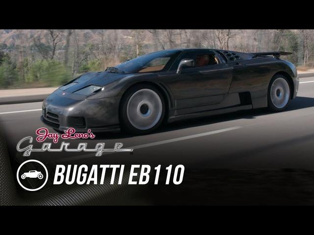 Bare Carbon Fiber Bugatti EB110 By Dauer -Jay Leno's Garage