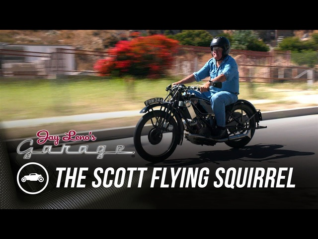 Race Motorcycle From the 20's: The Scott Flying Squirrel - Jay Leno's Garage