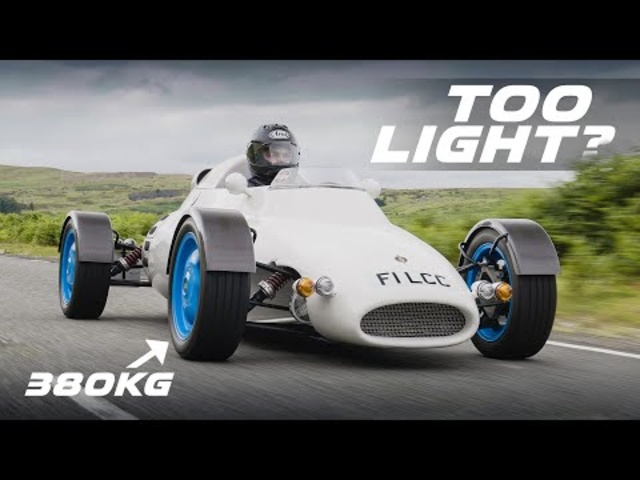 The 380KG Rocket - Can A Car Be Too Light? | Carfection 4K