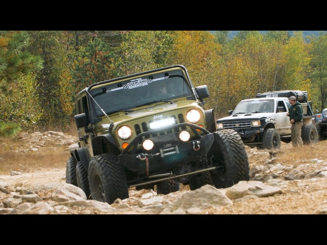 Jeeps and Trucks Off-Roading through Pennsylvania | Overland Adventure East Episode 1