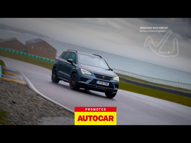 Promoted | The CUPRA Ateca: in one lap | Autocar