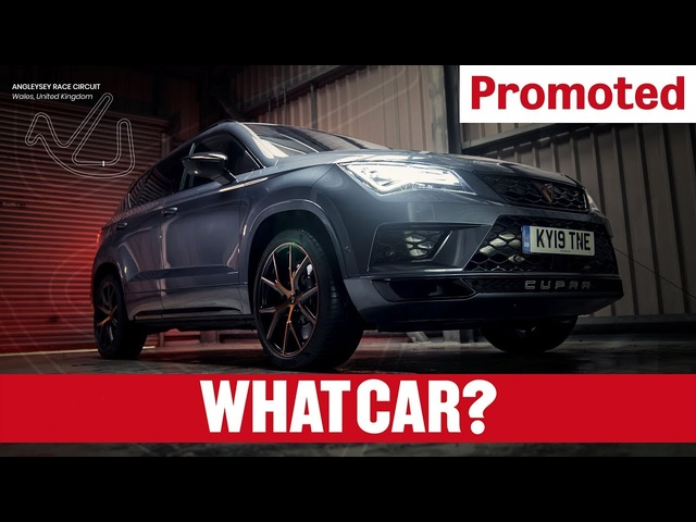Promoted | The CUPRA Ateca: in one lap | What Car?