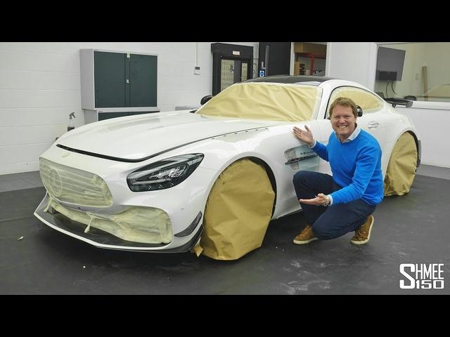 Preparing My AMG GT R PRO! Detailing at Topaz