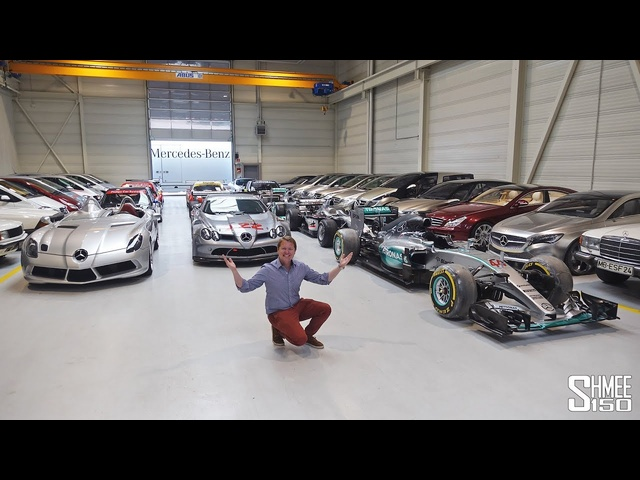 This is the SECRET Mercedes-Benz Collection! EXCLUSIVE ACCESS