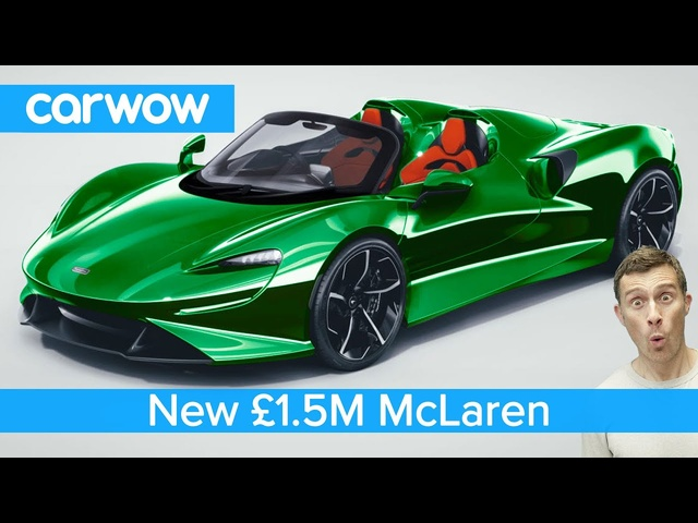 New £1.5M McLaren hypercar -all you need to know about the bonkers Elva
