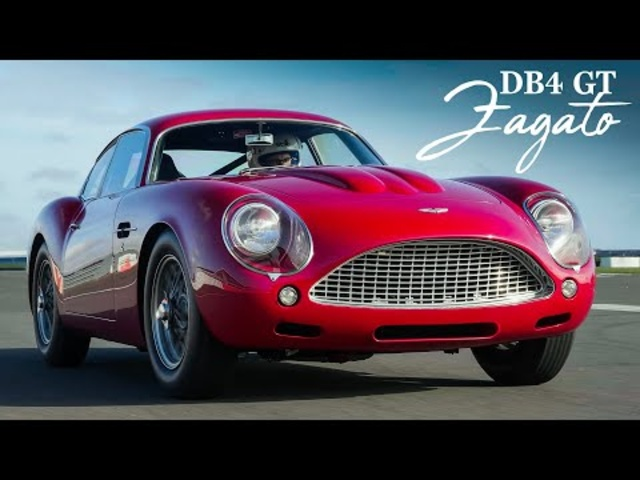 Aston Martin DB4 GT Zagato Continuation: Track Review | Carfection 4K