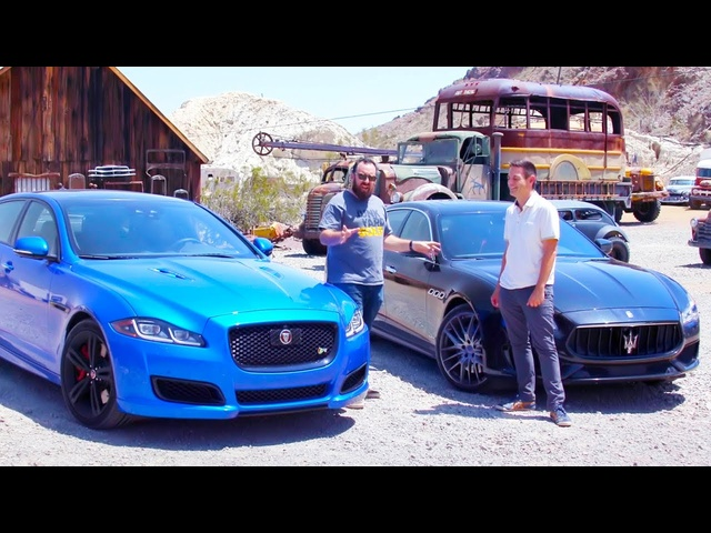 Head 2 Head FULL EPISODE | <em>Jaguar</em> XJR575 vs Maserati Quattroporte GTS—Episode 107
