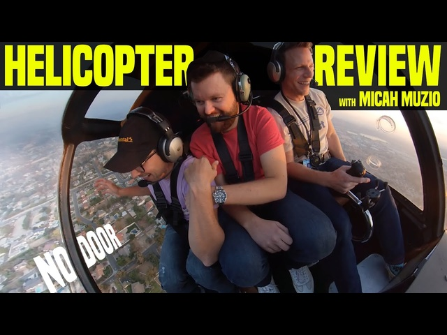 Car Guys Review A Helicopter - How To Fly With @Micah Muzio