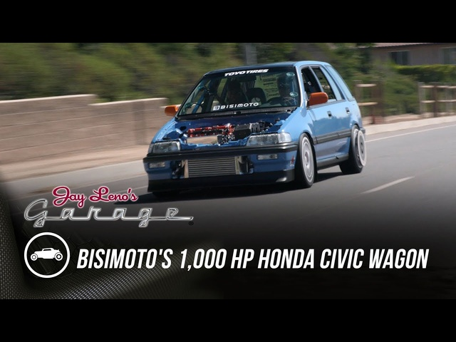 Bisimoto's 1,000 HP Honda Civic Wagon -Jay Leno's Garage