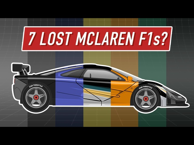 The Amazing McLaren F1 Stories You've Never Heard Of
