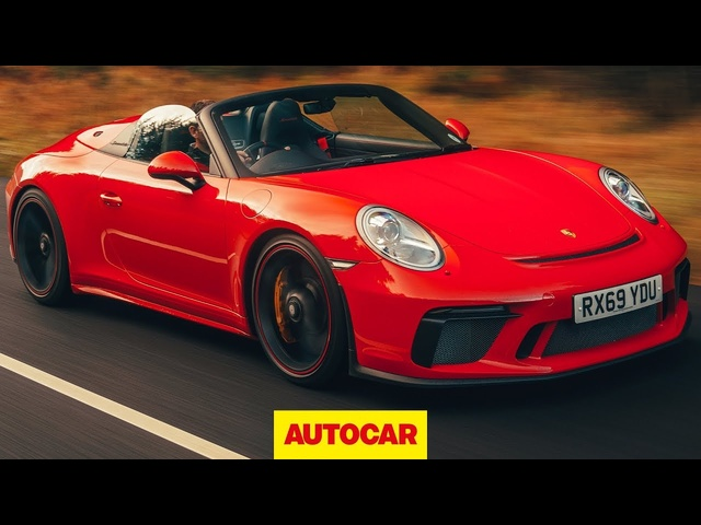 Porsche 911 Speedster 2020 review | Is this 991 the BEST convertible Porsche ever? | Autocar