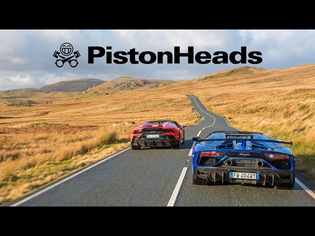 Lamborghini Aventador SVJ Roadster vs. Huracan Evo Spyder | PistonHeads