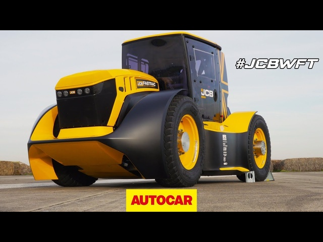 World's Fastest Tractor! Technical walkaround and TEST of 1000bhp JCB Fastrac