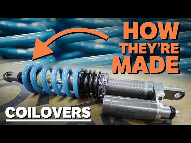 How Car Dampers Are Made & What They Do!