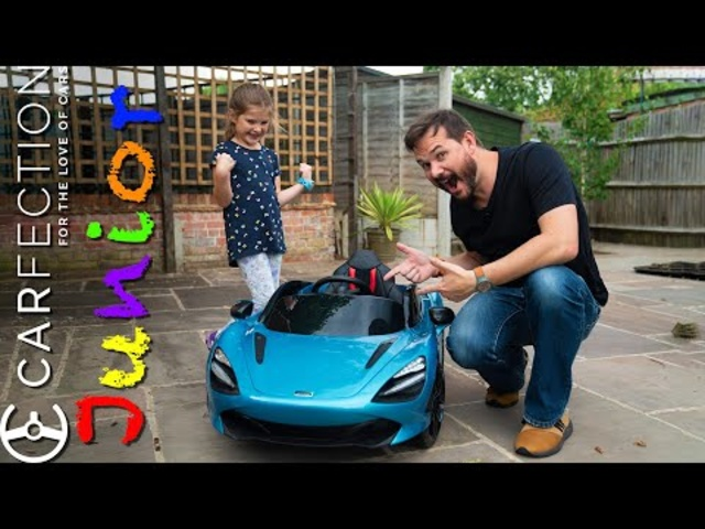McLaren 720S Ride On Supercar For Kids: Fantasy Fun Test Drive | Carfection Junior