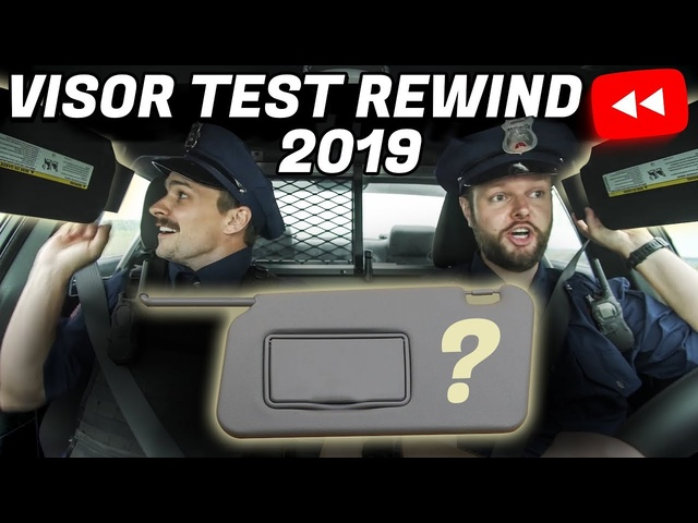 Does Your Car Pass The Visor Test? Visor Test Rewind 2019