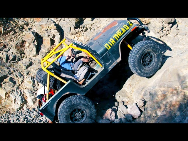 Dirt Every Day FULL EPISODE | Junkyard Jeep Gets 40-Inch Tires & 1-Ton Axles—Episode 85