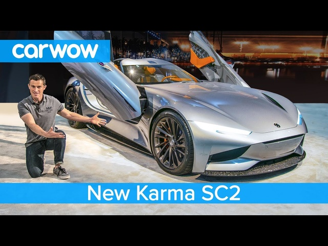 New 1,100hp Karma SC2 EV - see why it's way cooler than a <em>Tesla</em> Roadster!