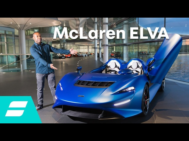 New McLaren Elva: The £1.4m hypercar with no windscreen!