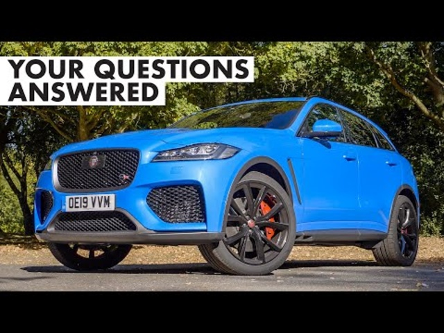<em>Jaguar</em> F-Pace SVR: Your Questions Answered | Carfection +
