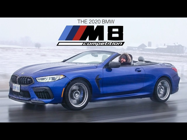 The BMW M8 Competition Cabriolet is an Insane Twin Turbo V8 Convertible