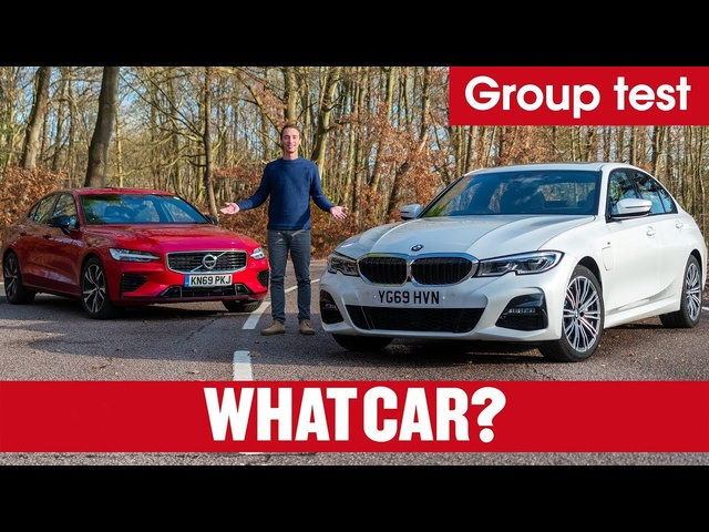 2020 BMW 3 Series 330e vs Volvo S60 T8 review – which is the best plug-in hybrid? | What Car?