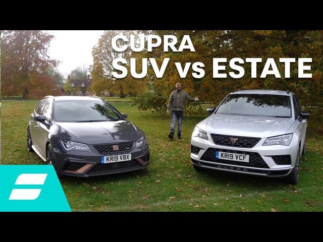 Twin test: Cupra Ateca vs Seat Leon Cupra R ST