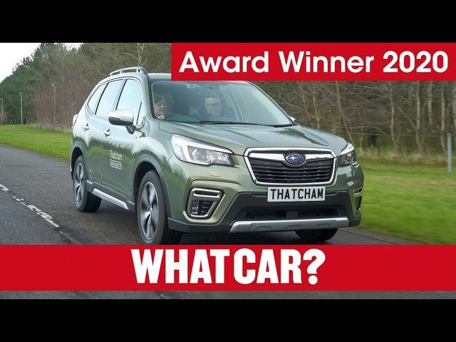 2020 What Car? Technology Award – Subaru's driver monitoring system | What Car? | Sponsored