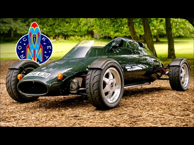 The Car That's Really A ROCKET: Light Car Company Rocket | Carfection 4K