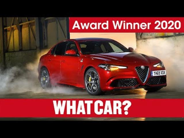 Alfa Romeo Giulia Quadrifoglio: why it's our 2020 Performance Car   What Car?   Sponsored