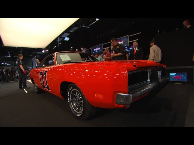 Dukes of Hazzard Collection Sells at Barrett-Jackson Scottsdale!