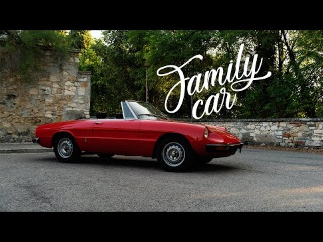 1971 Alfa Romeo Spider 1300 Junior: The Family Car | Petrolicious